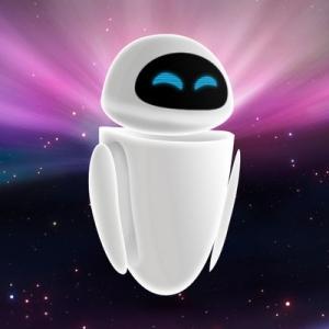 a robô com cara de ipod