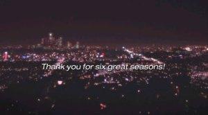 leia-se: obrigada por seis inconstantes temporadas