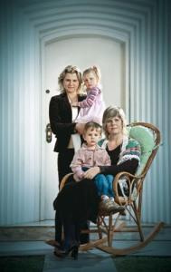 mami, pami e os filhos